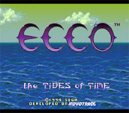 Ecco: The Tides of Time screen shot 1 1