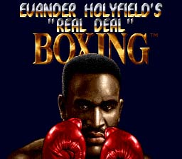 Evander Holyfield Real Deal Boxing screen shot 1 1