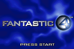 Fantastic 4 GBA Screenshot Screenshot 1