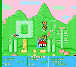Fantasy Zone screen shot 2 2