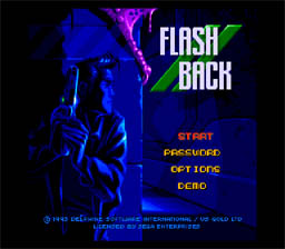 Flash Back: The Quest for Identity Genesis Screenshot Screenshot 1