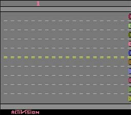Freeway Atari 2600 Screenshot Screenshot 1
