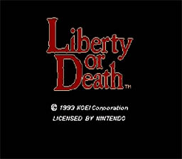 Liberty or Death SNES Screenshot Screenshot 1