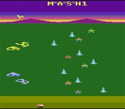M.A.S.H. Atari 2600 Screenshot Screenshot 1